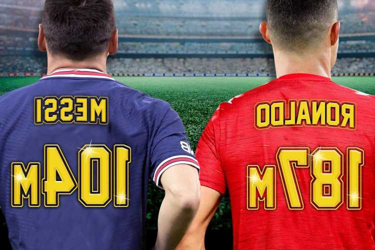 Cristiano Ronaldo nearly DOUBLES Lionel Messi shirt sales after sensational Man Utd transfer return