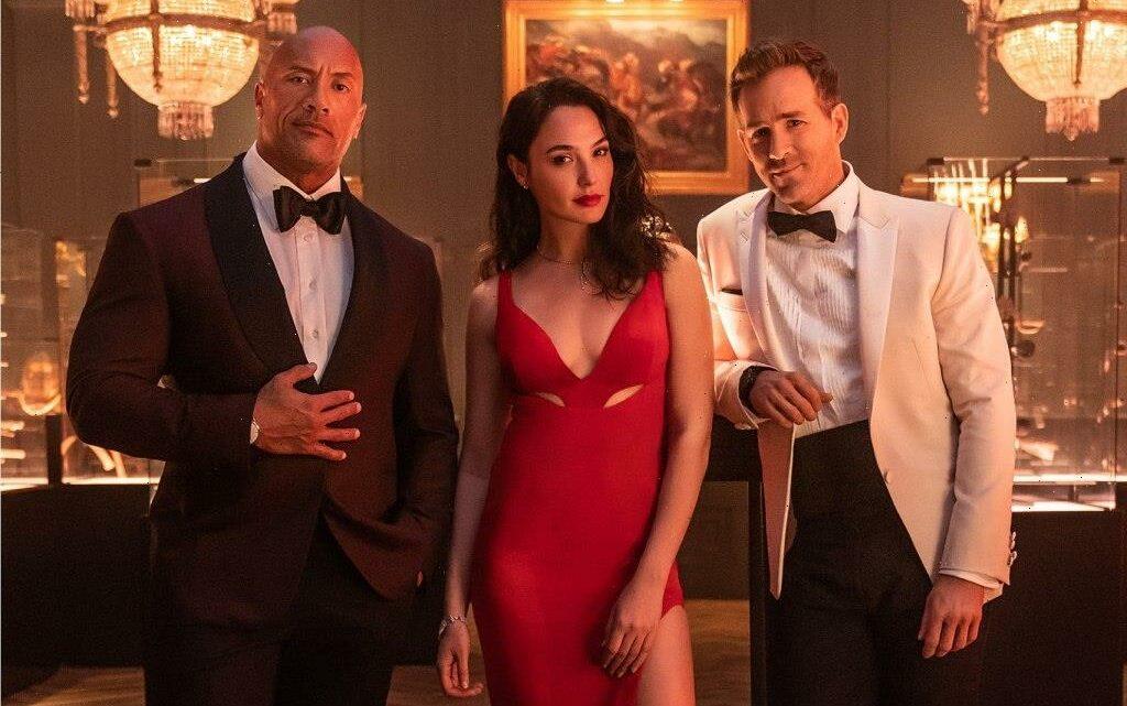 Dwayne Johnson, Ryan Reynolds and Gal Gadot Team Up in 'Red Notice' Trailer
