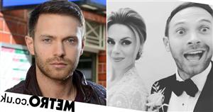 EastEnders' Matt Di Angelo marries partner Sophia Perry