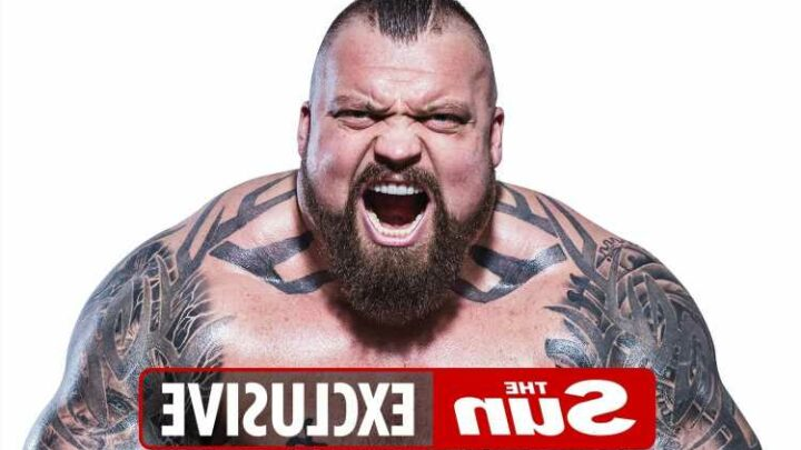 Eddie Hall slams Hafthor Bjornsson's 'fake fights' and claims The Mountain's punches have 'no snap'