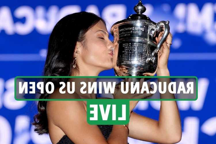 Emma Raducanu wins US Open LIVE REACTION: Brit BEATS Leylah Fernandez in stunning straight sets victory – updates