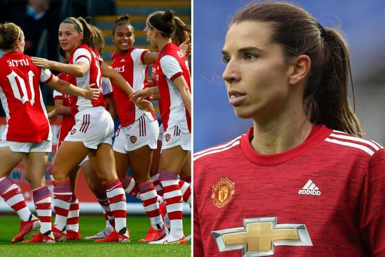 Ex-Man United ace Tobin Heath agrees terms with Arsenal on a potential free transfer