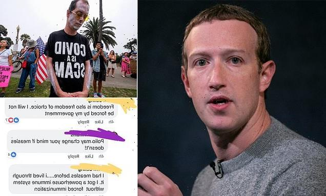 Facebook hindered Zuckerberg's goal to get 50 million vaccinated
