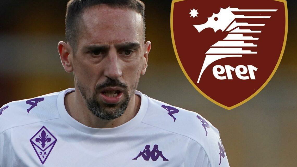 Former Bayern Munich star Franck Ribery 'close' to sealing Salernitana transfer on £1.2m one-year deal