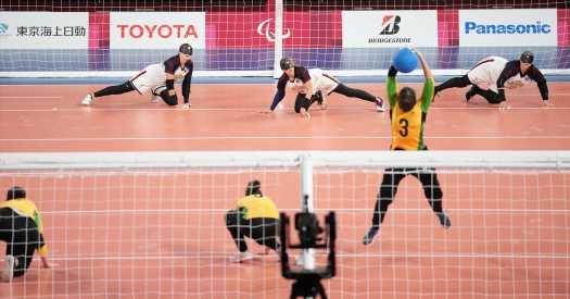 Goalball Teammates Set Paralympic Record for Longevity