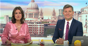 Good Morning Britain's Susanna Reid laughs off claims she turned up to work in dressing gown