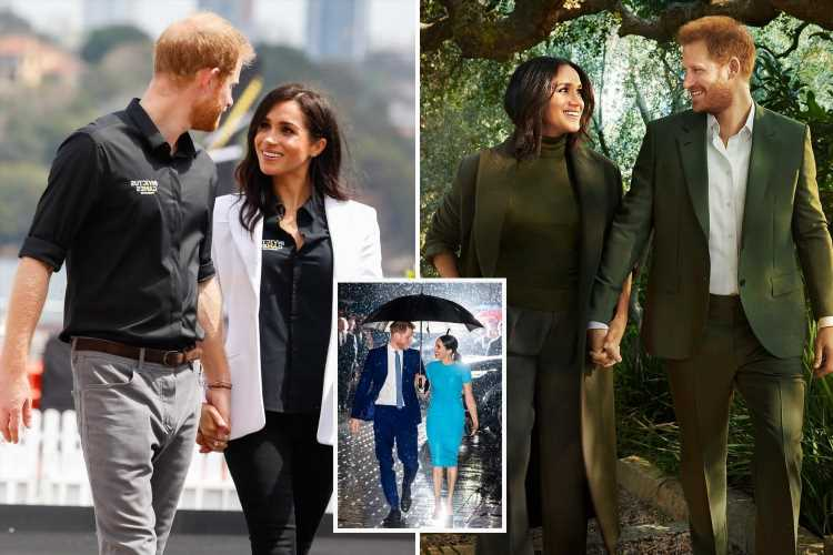 Harry & Meghan's signature Hollywood pose is 'unnatural and staged' with one telling sign giving it away, says expert