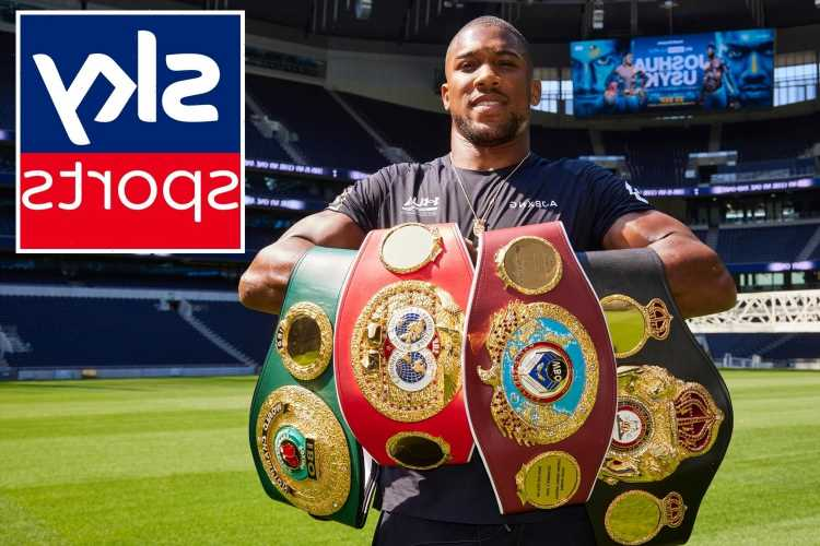 How much Anthony Joshua has earned for each of his Sky Sports fights from Dillian Whyte with Usyk his last bout on deal