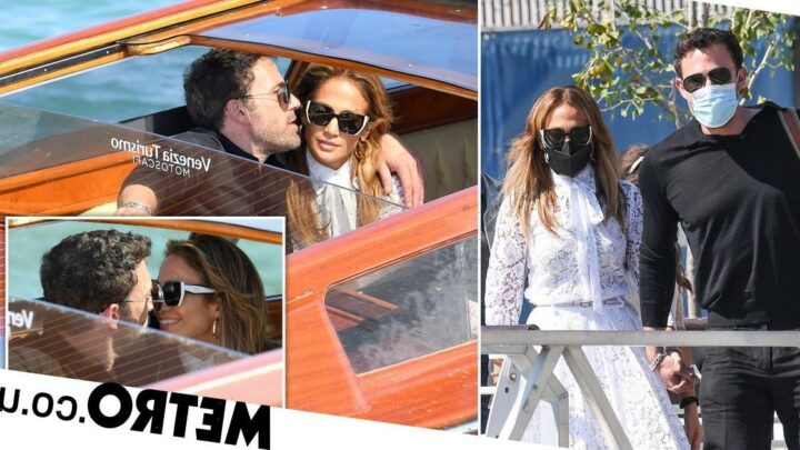 Jennifer Lopez and Ben Affleck can't keep eyes off each other in Venice