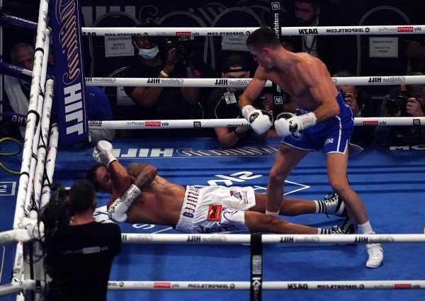 Lenin Castillo: Boxer rushed to hospital after 'horrible, brutal' Callum Smith knockout
