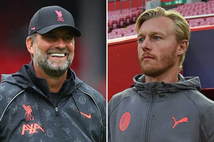 Liverpool boss Klopp writes tear-jerking tribute to AC Milan 'hero' Kjaer for helping save Christian Eriksen's life