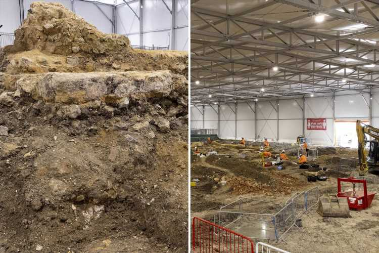Lost Anglo-Saxon church dating back 1,000 YEARS found by HS2 'with thousands of bodies to move'