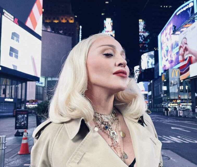Madonna Toasts MTV and Times Square In Surprise VMAs Appearance