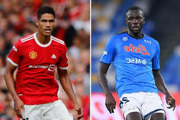 Man Utd 'tried to sign Koulibaly before Varane in summer transfer window but Napoli rejected £30m offer'