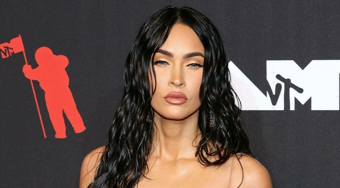 """Megan Fox is Proof: """"Liquid Hair"""" Will Be the Hottest Trend To Try This Fall"""