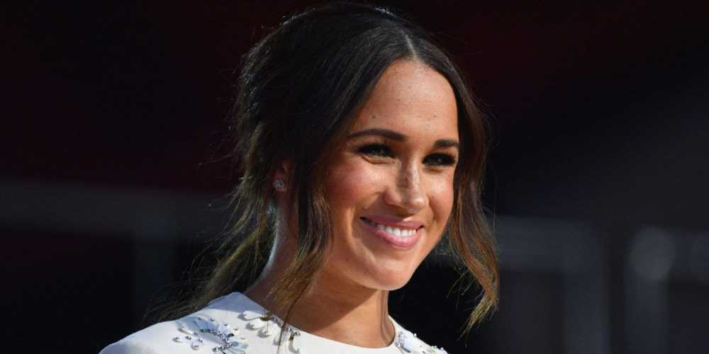 Meghan Markle Wore an Embellished White Minidress to Global Citizen Live