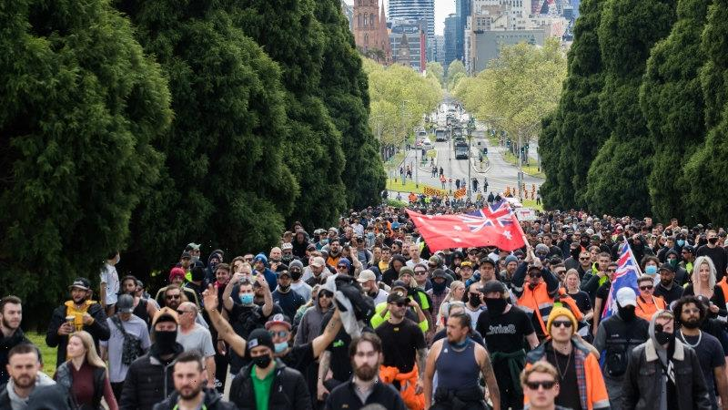 Melbourne protests LIVE: Victoria Police braced for fourth day of anti-vaccine protests