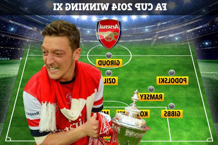 Mesut Ozil was the final member of 2014 FA Cup winning team to leave Arsenal… but where are they now?