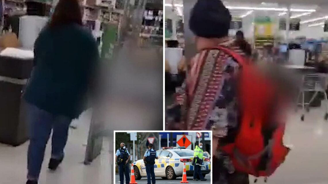 New Zealand terror attack: Multiple people stabbed by 'ISIS-inspired' knifeman in supermarket as screaming shoppers flee