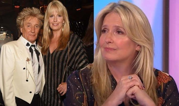 Penny Lancaster reveals song lyrics Rod Stewart used to convince her to 'make a baby'