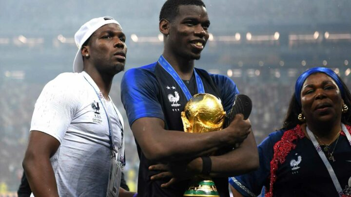 Pogba's brother says Man Utd star will decide on future at 'right time' amid Real Madrid and PSG transfer links