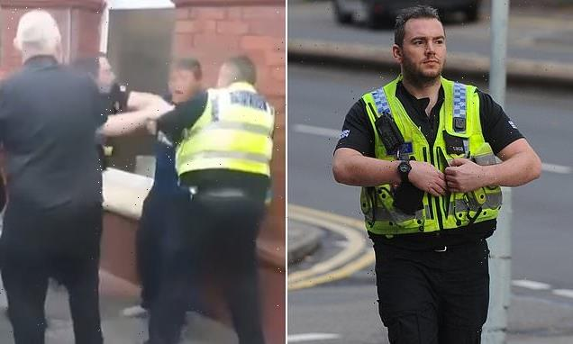 Police officer who punched drinker Tasered pregnant woman