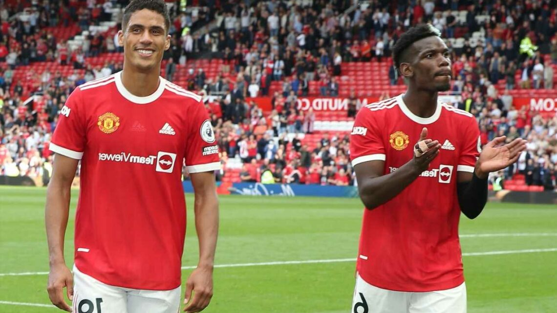 Raphael Varane urges 'fantastic' Paul Pogba to stay at Man Utd after midfielder's key role in ex-Madrid star's transfer