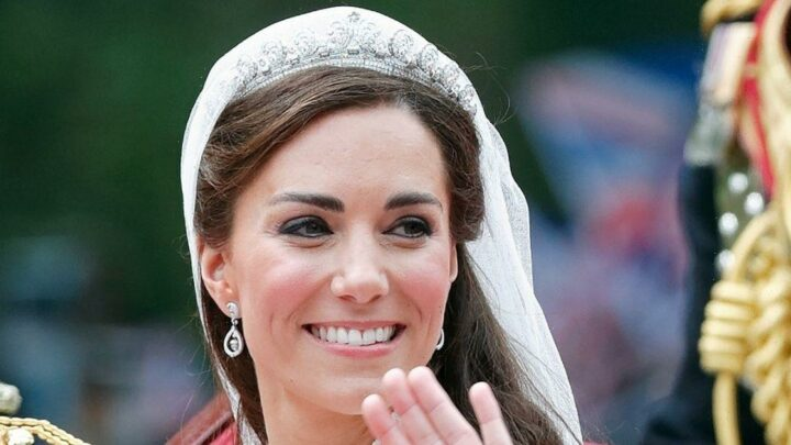 Royals who recycled for their wedding as James Middleton's wife wears mother-in-law Carole's dress