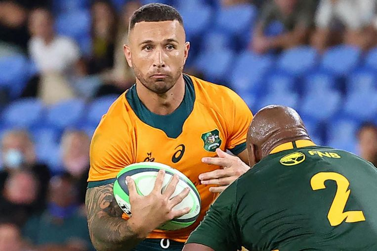 Rugby: Cooper's Wallaby heroics ease path to Australian citizenship