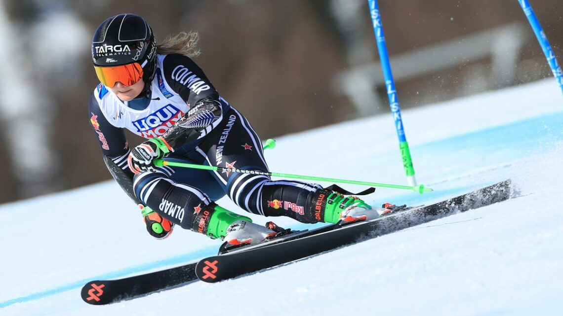 Skiing: Alice Robinson playing catch up due to lockdown ahead of biggest season
