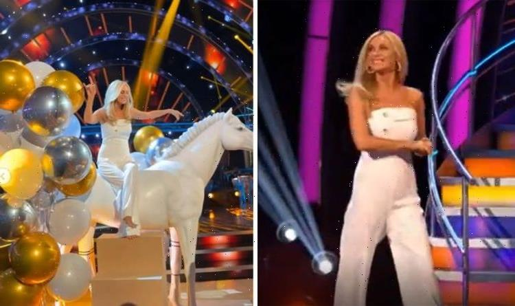 Tess Daly looking 'absolutely sensational' in white jumpsuit for Strictly Come Dancing