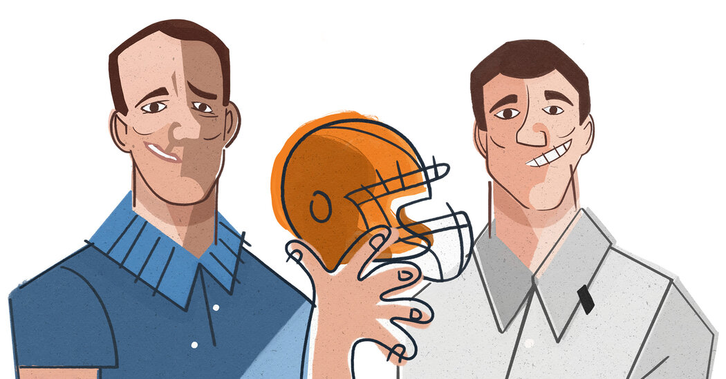 The Mannings Give TV Sports Yet Another Alternate Viewing Option