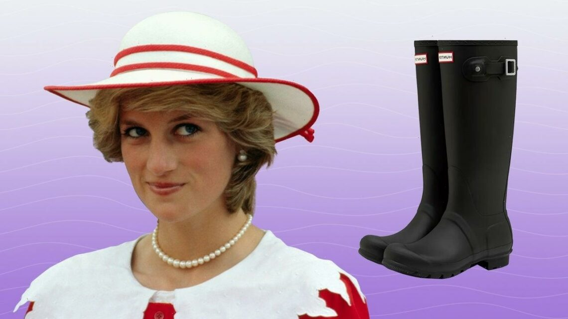The Princess Diana Worn Hunter Rain Boots Are Available at Nordstrom