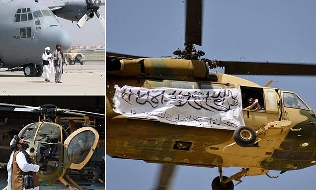 The Taliban feel 'betrayed' after US disabled helicopters and planes