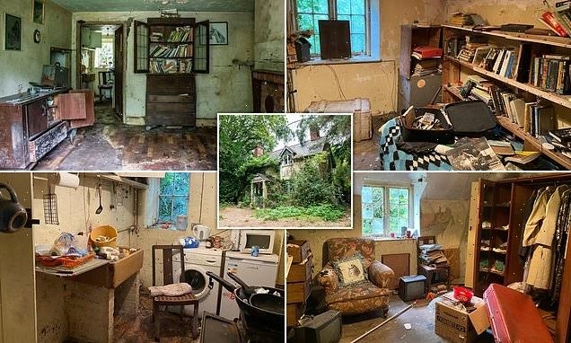 The cottage time forgot: £275,000 three-bed house goes up for auction