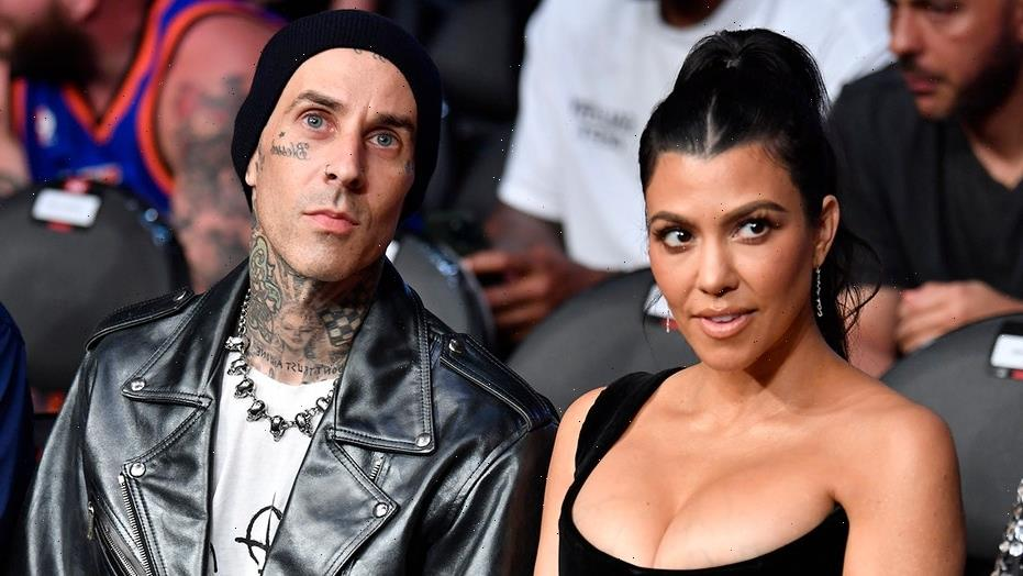 Travis Barker, Kourtney Kardashian pack on the PDA in front of Eiffel Tower: 'Forever isn't long enough'