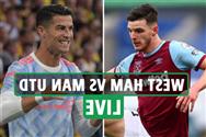 West Ham vs Man Utd LIVE: Stream, TV channel, team news for crucial Premier League clash at London Stadium – updates