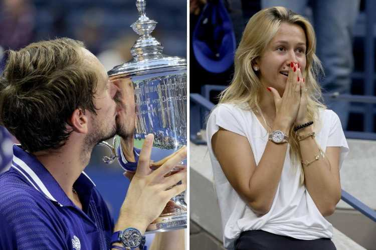 Who is Daniil Medvedev's wife Daria, does US Open champion have children with her?