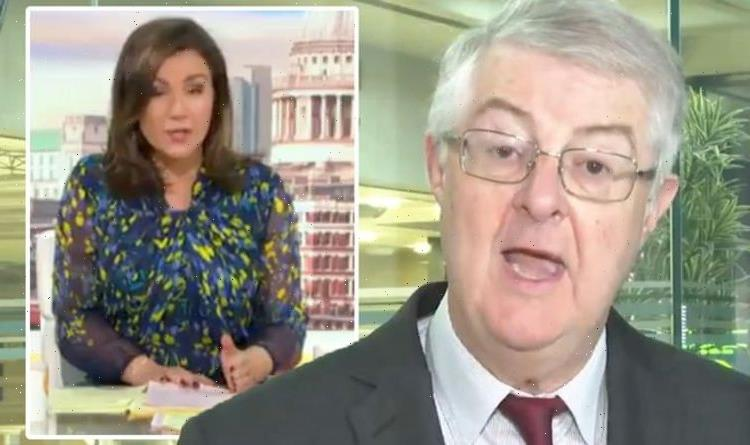 'How can you enforce?' Susanna Reid skewers Drakeford over flaw in Covid passport plans
