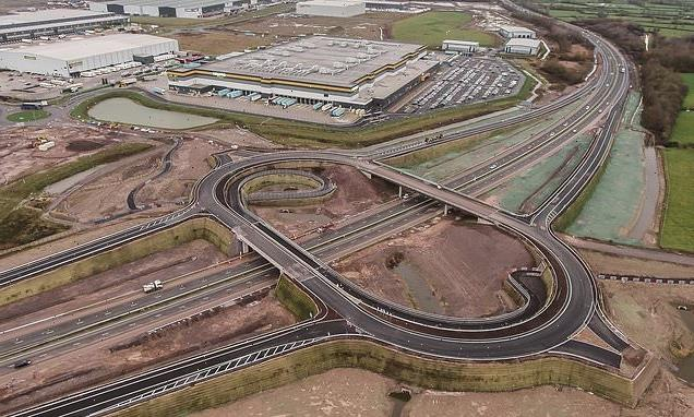 £50m M49 junction 'dead end' finished in 2019 may FINALLY be connected