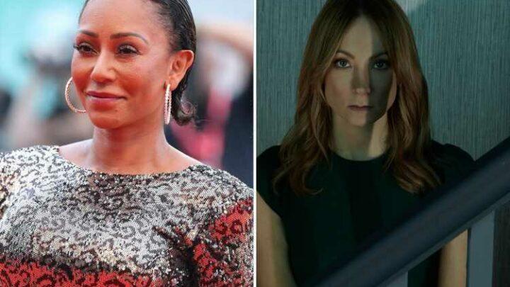 Angela Black's Joanne Froggatt reveals how Spice Girl Mel B helped her prepare for traumatic new role