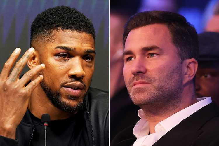 Anthony Joshua 'SULKING' over Oleksandr Usyk defeat and should ditch 'humble in defeat' attitude, says Eddie Hearn