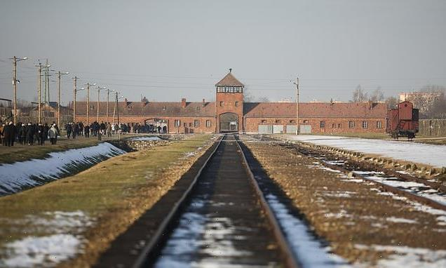 Anti-Semitic and Holocaust-denying graffiti found at Auschwitz