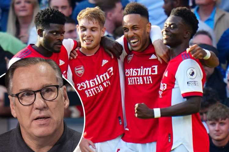 Arsenal tipped to finish in top four and re-enter Champions League after resurgence under Arteta by Merson