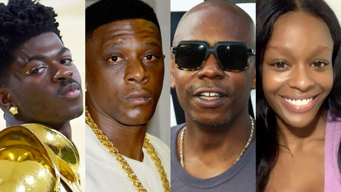 Azealia Banks Rips Both Dave Chappelle and Boosie Badazz Following Rapper's Lil Nas X Remarks