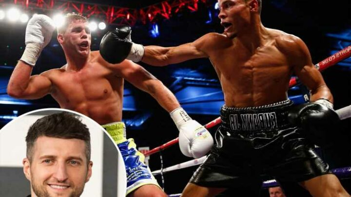 Chris Eubank Jr urged to 'get a move on' in his boxing career as Carl Froch calls for bitter Billy Joe Saunders rematch