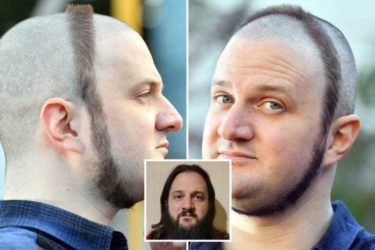 Civil servant gets Britain's worst haircut to raise money for charity