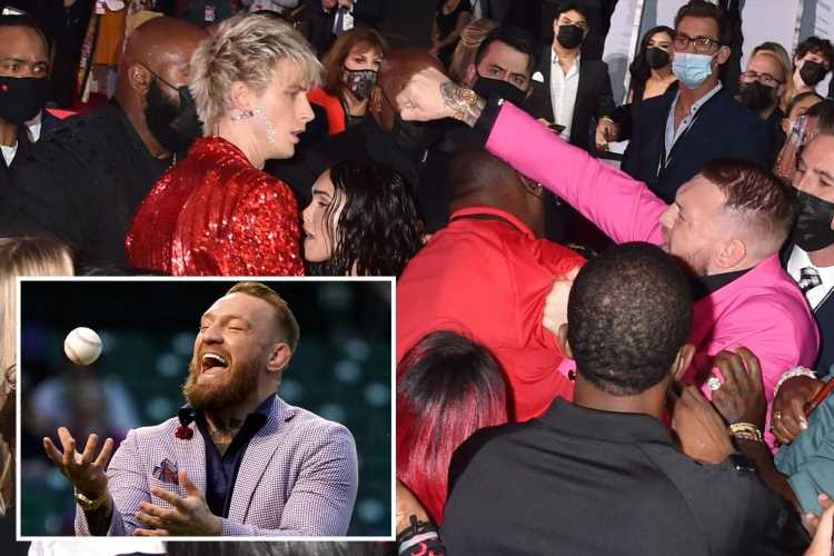 Conor McGregor branded 'cringiest' person in world after shocking baseball pitch and for 'trying to fight Megan Fox'