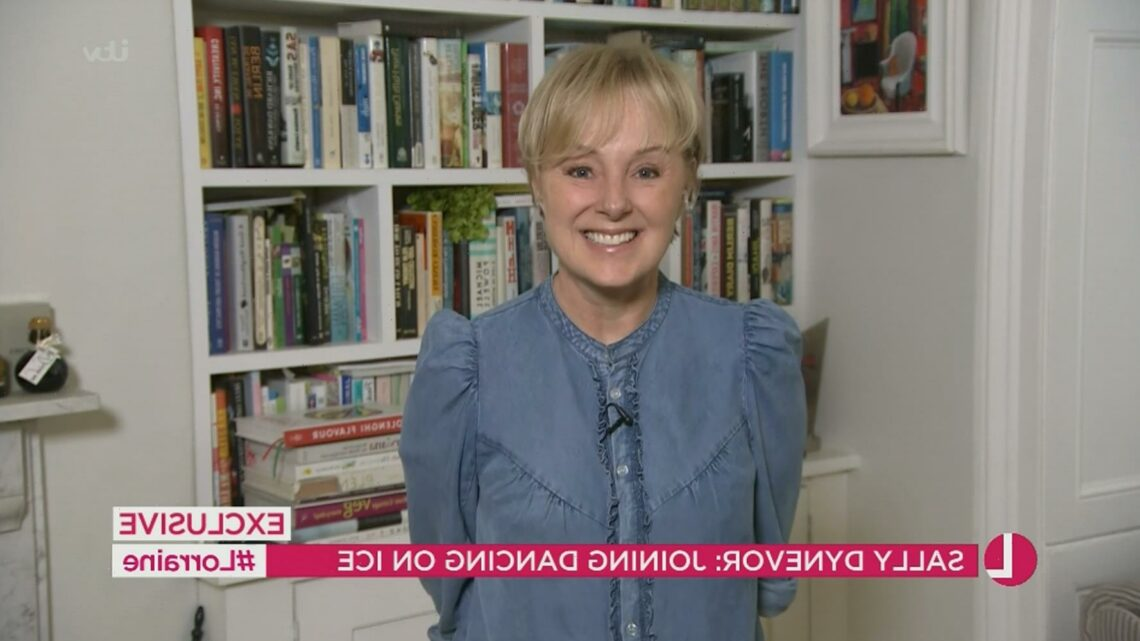 Coronation Street's Sally Dynevor reveals she's 'terrified' as she officially announces Dancing On Ice appearance