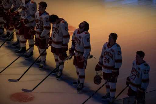 """DU hockey begins season fueled by disappointment of """"unacceptable"""" losing record last year – The Denver Post"""